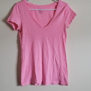 Bright Pink American Eagle T Shirt